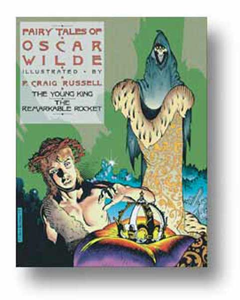 Image: Fairy Tales of Oscar Wilde Vol. 02: The Young King / The Remarkable Rocket HC  - NBM