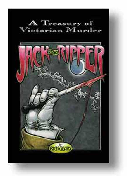 Image: A Treasury of Victorian Murder: Jack the Ripper HC  - NBM