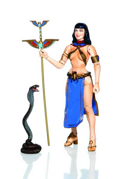 Image: Bettie Page Action Figure: Cleopatra  -