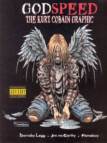 Image: Godspeed: Kurt Cobain Graphic Novel SC  -