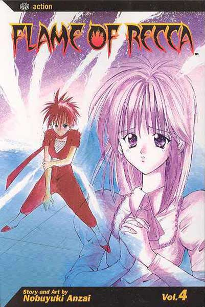 Image: Flame of Recca Vol. 04 SC  - Viz Media LLC