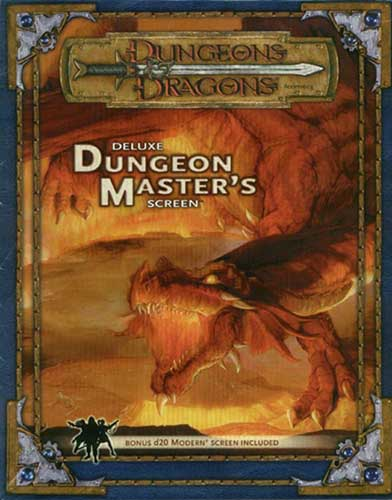 Image: Dungeons & Dragons Deluxe Dungeon Master's Screens  -