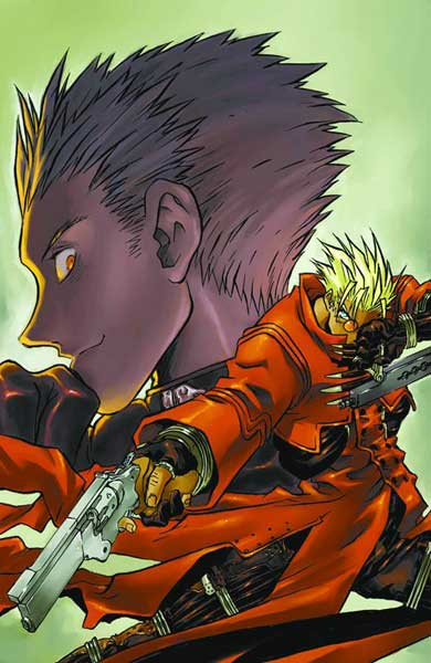 Image: Trigun Maximum Vol. 04: Bottom of the Dark SC  - Dark Horse Comics