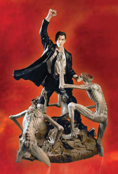 Image: Constantine Movie Statue: Keanu Reeves as Constantine  -