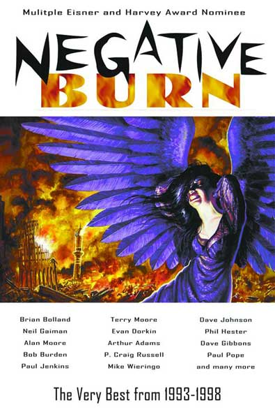Image: Negative Burn: The Very Best from 1993-1998 SC  - Image Comics