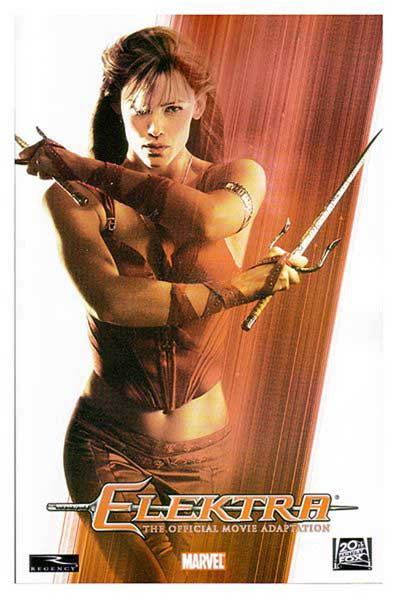 Image: Elektra Movie Adaptation SC  - Marvel Comics