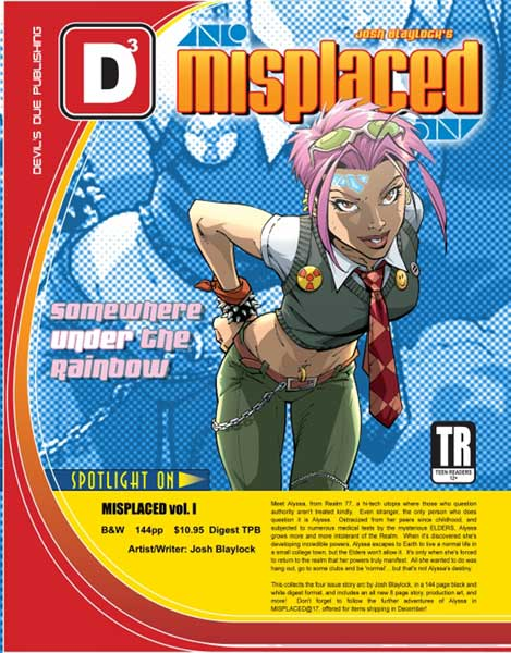 Image: Misplaced Vol. 1 SC  - Devils Due Publishing