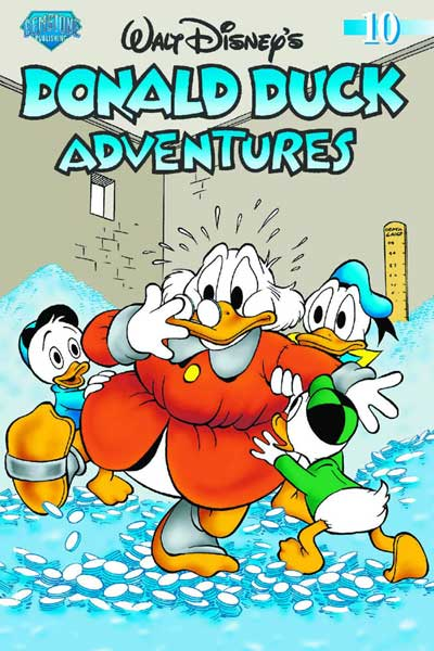 Image: Donald Duck Adventures Vol. 10 SC  - Gemstone Publishing