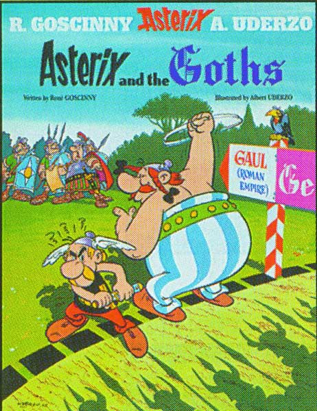 Image: Asterix #3: Asterix and the Goths SC  - Sterling Publishing