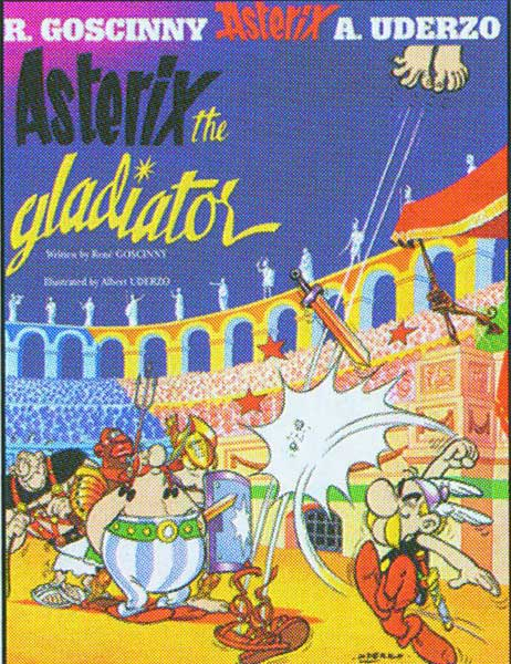 Image: Asterix Vol. 04: Asterix the Gladiator SC  - Sterling Publishing