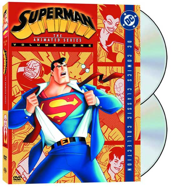 Image: Superman: The Animated Series Vol. 1 DVD  -