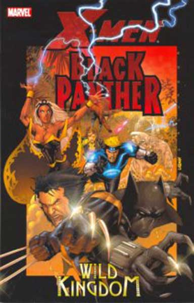 Image: X-Men / Black Panther: Wild Kingdom SC  - Marvel Comics
