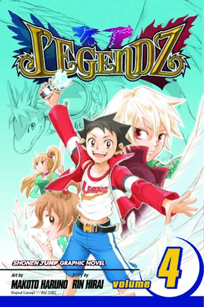 Image: Legendz Vol. 04 SC  - Viz Media LLC