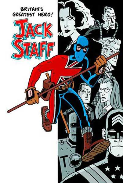 Image: Jack Staff Vol. 01: Everything Used to be Black & White SC  - Image Comics
