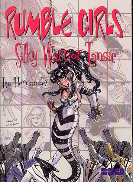Image: Rumble Girls Vol. 1: Silky Warrior Tansie SC  - NBM