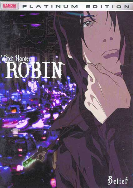 Image: Witch Hunter Robin Vol. 02: Belief DVD  -