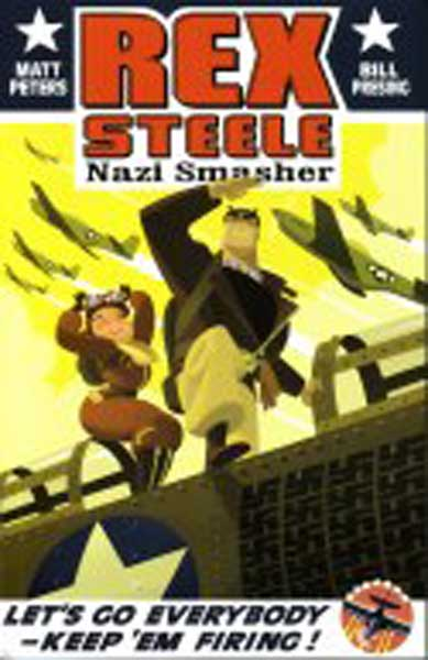 Image: Rex Steele Nazi Smasher SC  - Monkeysuit Press