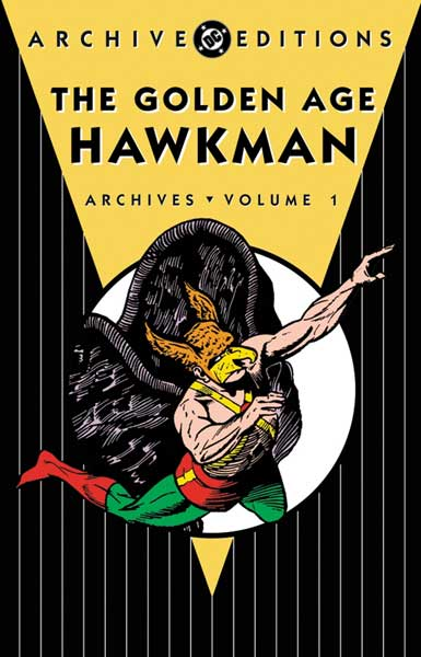 Image: Golden Age Hawkman Archives Vol. 01 SC  - DC Comics
