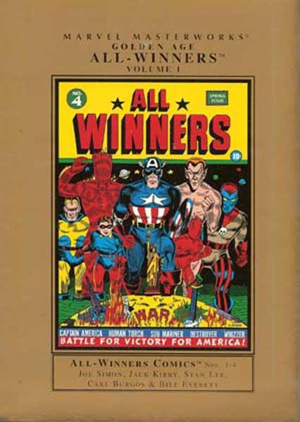 Image: Marvel Masterworks: Golden Age All-Winners Vol. 01 HC  - Marvel Comics
