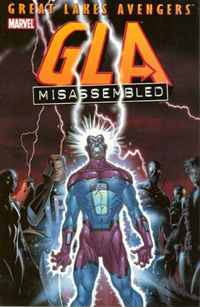 Image: GLA Misassembled SC  - Marvel Comics