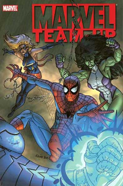 Image: Marvel Team-Up Vol. 02: Master of the Ring SC  - Marvel Comics