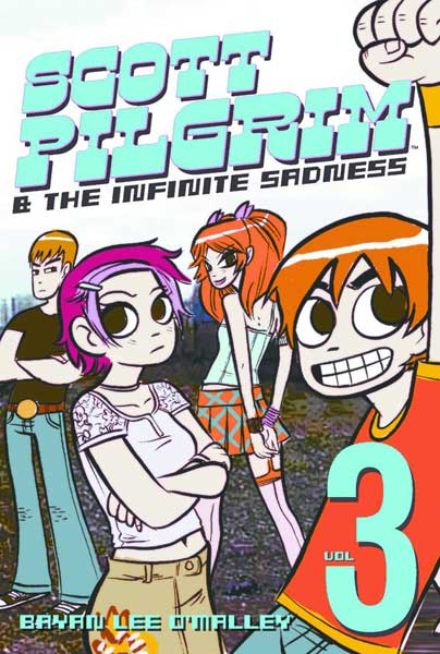 Image: Scott Pilgrim Vol. 03: Infinite Sadness SC  - Oni Press Inc.