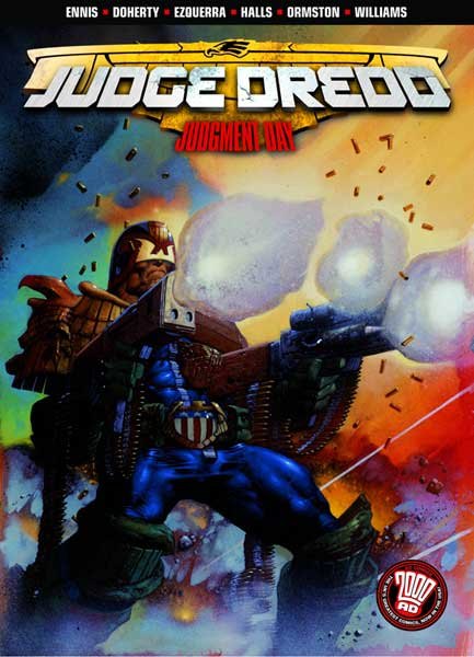 Image: Judge Dredd: Judgement Day SC  - DC Comics