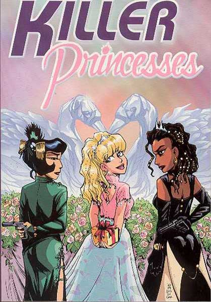 Image: Killer Princesses SC  - Oni Press Inc.