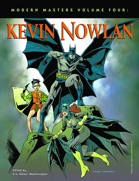 Image: Modern Masters Vol. 04: Kevin Nowlan SC  - Twomorrows Publishing