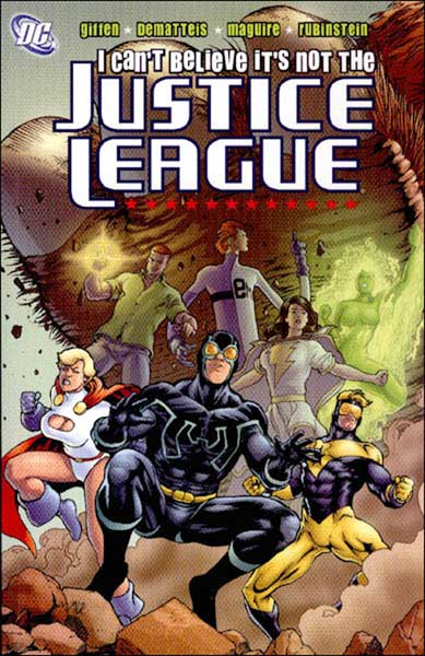 Image: I Can't Believe It's Not the Justice League SC  - DC Comics