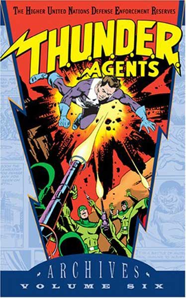 Image: T.H.U.N.D.E.R. Agents Archives Vol. 06 HC  - DC Comics