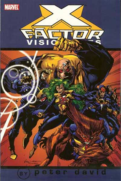 Image: X-Factor Visionaries: Peter David Vol. 01 SC  - Marvel Comics