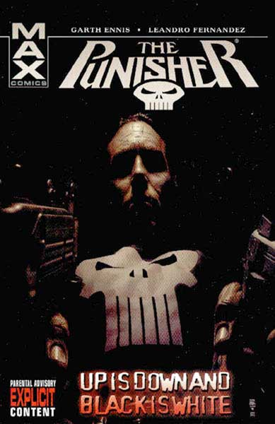 Image: Punisher Max Vol. 04: Up is Down and Black is White SC  - Marvel Comics