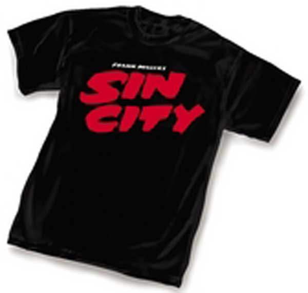 Image: Sin City Logo T-Shirt  (L) - Dark Horse Comics