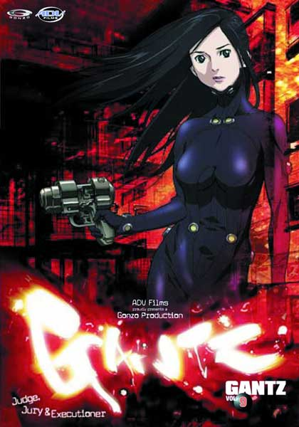 Image: Gantz Vol. 9: Judge, Jury & Executioner DVD  -