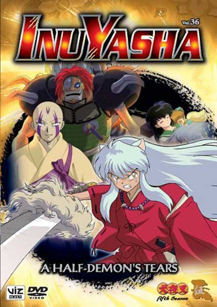 Image: Inuyasha Vol. 36: Half Demon's Tears DVD  -