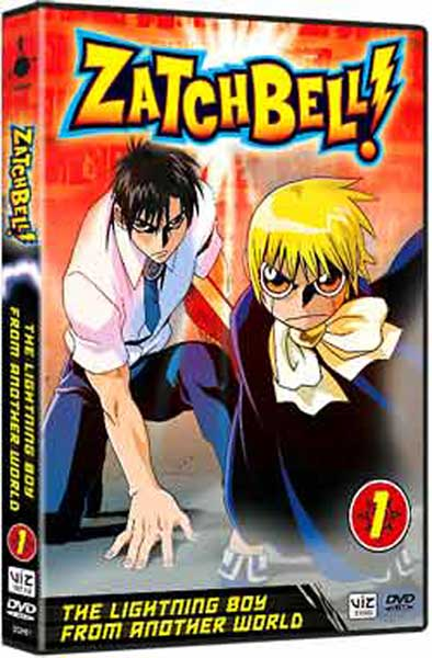 Image: Zatch Bell! Vol. 1: Lightning Boy DVD  -
