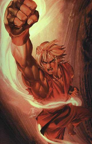 Image: Street Fighter #2 (Jo Chen Special Power Foil cover) - Image Comics