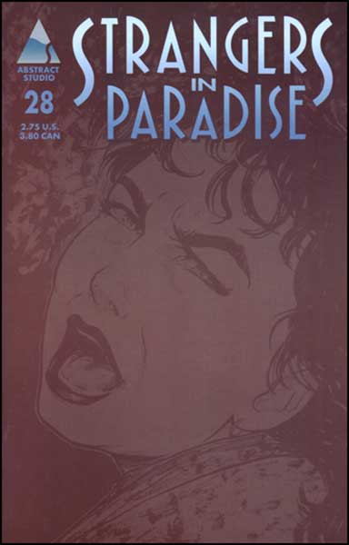 Image: Strangers in Paradise Vol. III #28 - Abstract Studios