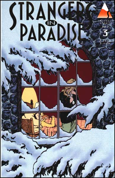 Image: Strangers in Paradise V. II #3 (Gold reprint ed.) - Abstract Studios