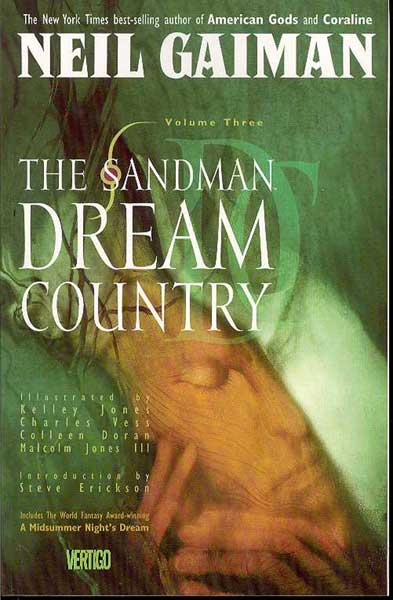 Image: Sandman Vol. 03: Dream Country SC  - DC Comics