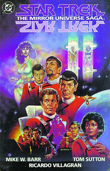 Image: Star Trek: The Mirror Universe Saga SC  - DC Comics