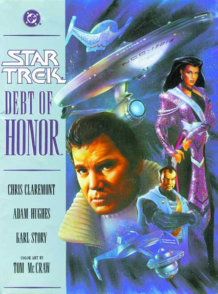 Image: Star Trek: Debt of Honor GN  - DC Comics