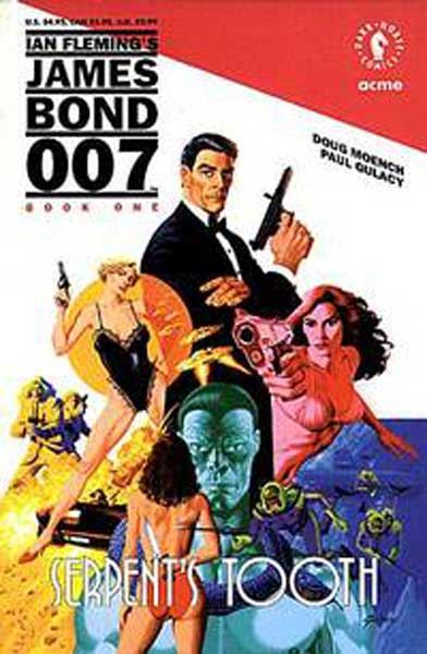 Image: James Bond 007: Serpent's Tooth SC  - Dark Horse Comics
