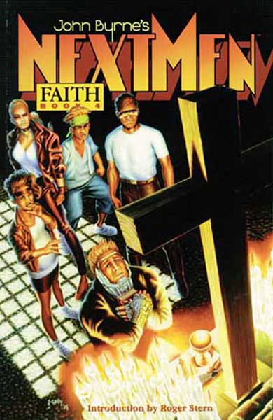 Image: John Byrne's Next Men Vol. 04: Faith SC  - Dark Horse Comics