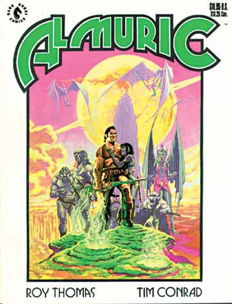 Image: Iron Hand of Almuric GN  - Dark Horse