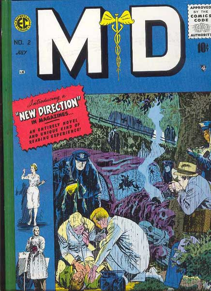 Image: EC Archives: New Direction Set 1: M.D. HC  - Gemstone Publishing