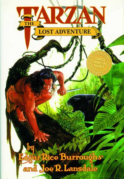 Image: Tarzan: Lost Adventure HC  - Dark Horse Comics