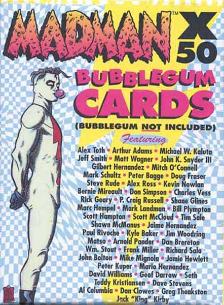 Image: Madman X 50 Bubblegum Not Included Trading Card Set  -