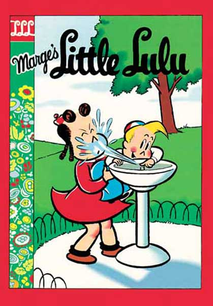 Image: Little Lulu Library Vol. V HC  - Gemstone Publishing